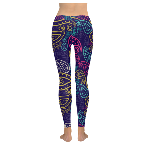 paisley All Over Print Legging