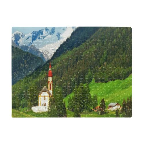 Austria Landscape A3 Size Jigsaw Puzzle (Set of 252 Pieces)