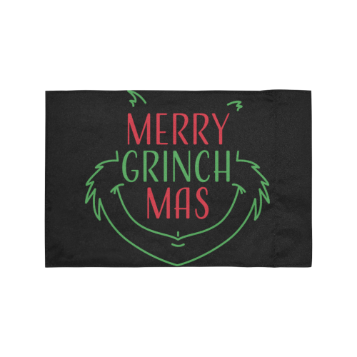 Merry Grinchmas Motorcycle Flag (Twin Sides)