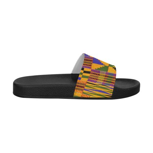 KENTE OG Men's Slide Sandals (Model 057)