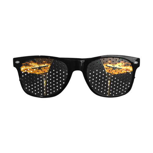 ZIPPER Old Biplane in the Sky Custom Goggles (Perforated Lenses)