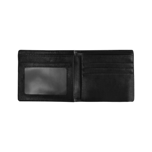 Colorful shapes Mini Bifold Wallet (Model 1674)