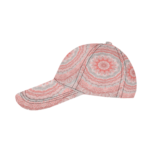 mandala neon 15 All Over Print Dad Cap C (6-Pieces Customization)