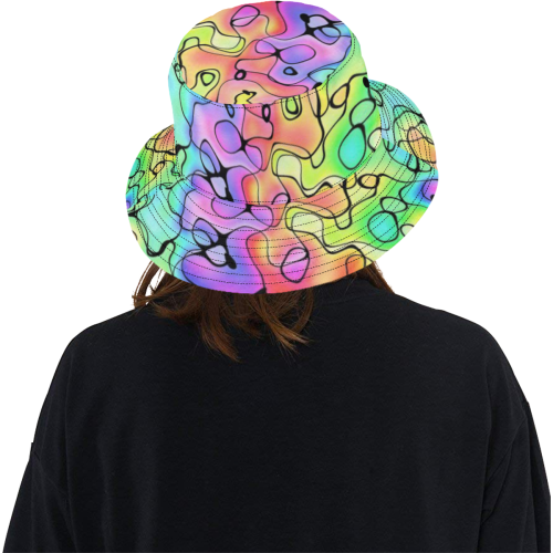 Squirlies 7K All Over Print Bucket Hat