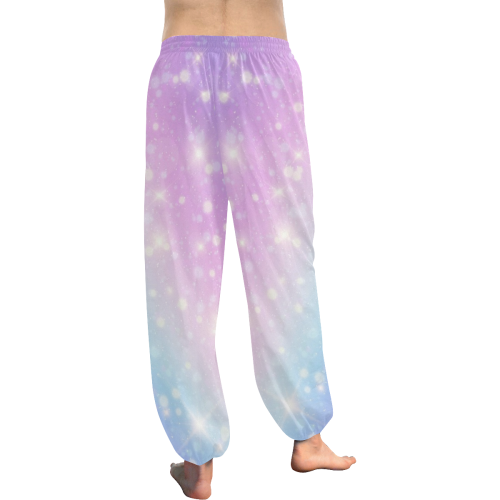 Star Bright Women's All Over Print Harem Pants (Model L18)