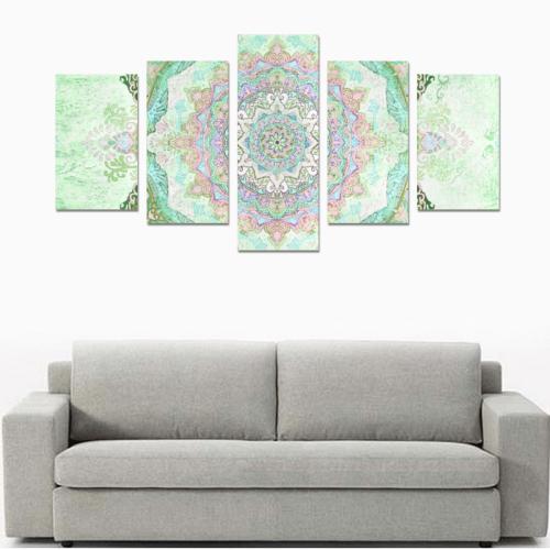 india 10 Canvas Print Sets C (No Frame)