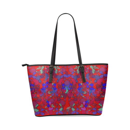 zappwaits v2 Leather Tote Bag/Small (Model 1640)