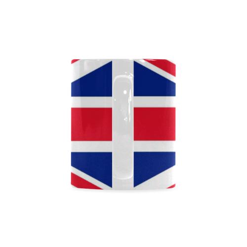 Coffee_Cup_Mug_British_Flag_Union_Jack Custom White Mug (11oz)