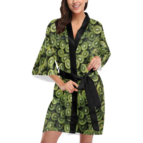 kiwi Kimono Robe