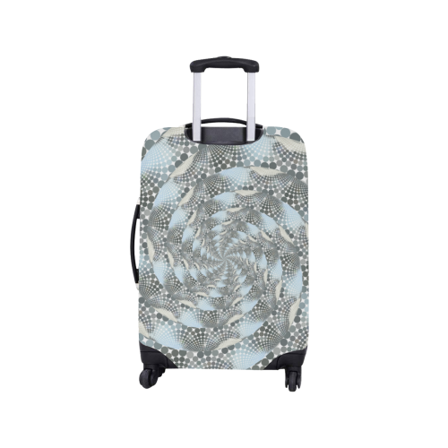 "Disco swirls Luggage Cover/Small 18""-21"""