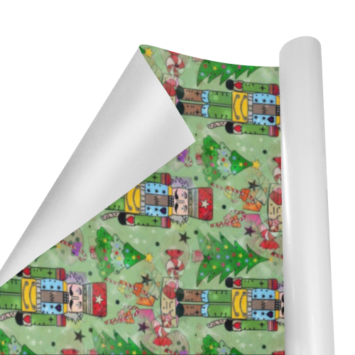 "Nutcracker by Nico Bielow Gift Wrapping Paper 58""x 23"" (5 Rolls)"