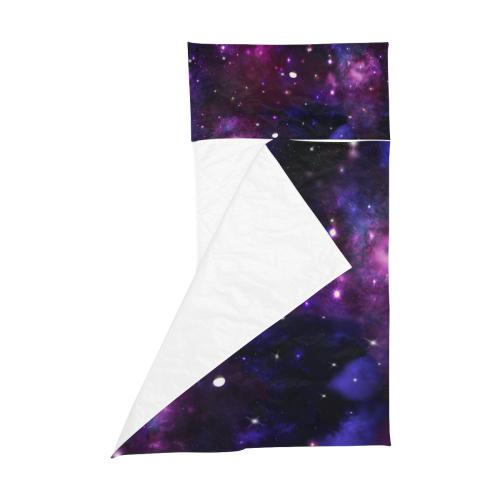 Midnight Blue Purple Galaxy Kids' Sleeping Bag