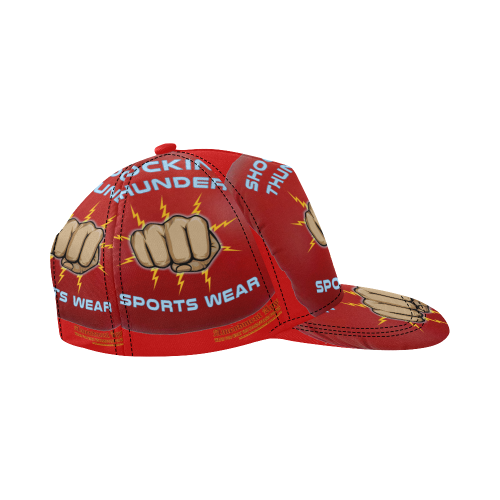 Shocking Thunder Cap All Over Print Snapback Hat D