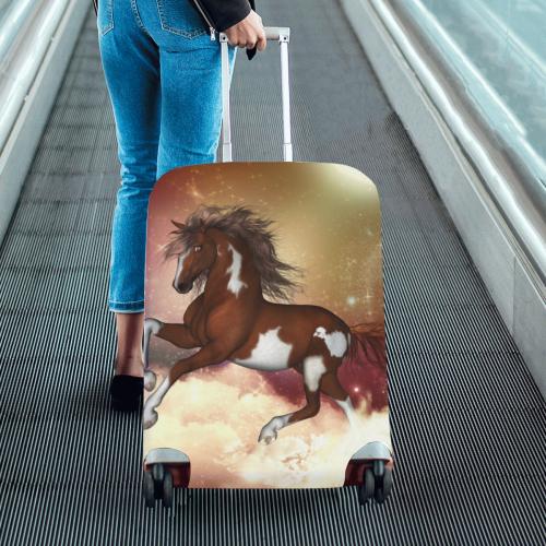 "Wonderful wild horse in the sky Luggage Cover/Medium 22""-25"""