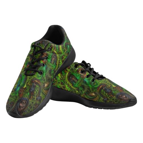 Lustmord 009_Treha Sektori Men's Athletic Shoes (Model 0200)