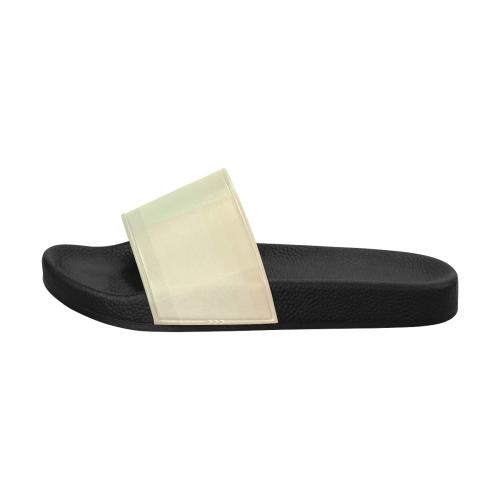 Like a Candy Sweet Pastel Squares Pattern Women's Slide Sandals (Model 057)