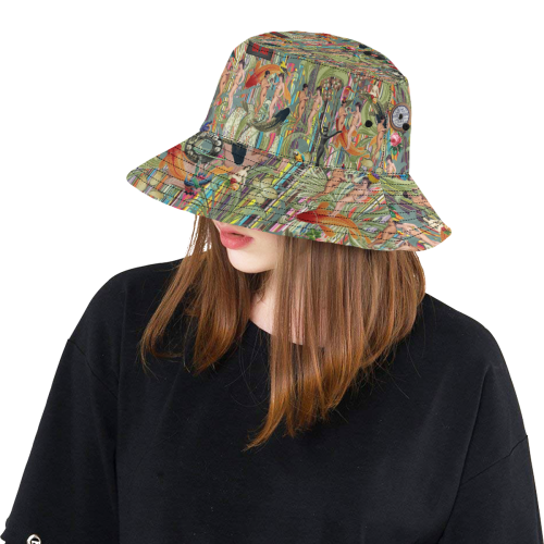 Another Relaxing Sunday All Over Print Bucket Hat