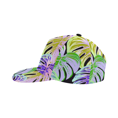 Pretty Leaves C by JamColors All Over Print Snapback Hat D