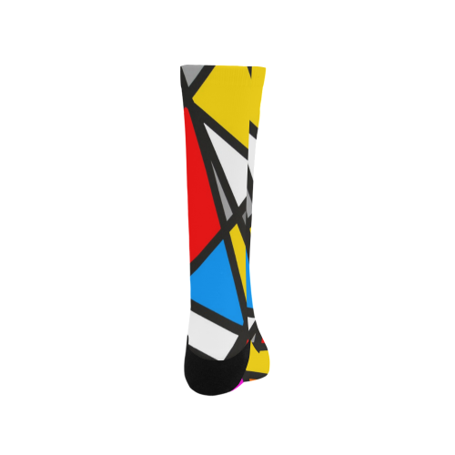 Mirror Popart by Nico Bielow Trouser Socks (For Men)