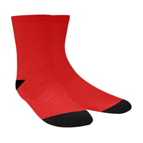 two-tone t77 Crew Socks