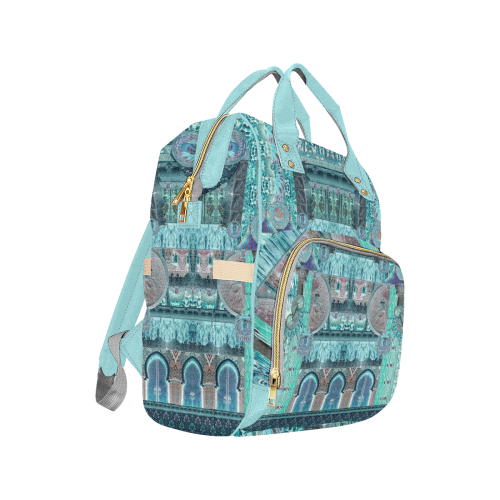 art nouveau 2 Multi-Function Diaper Backpack (Model 1688)