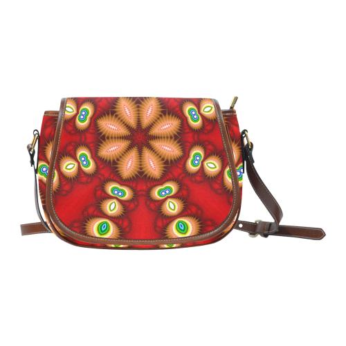 Watcher's Eyes Saddle Bag/Large (Model 1649)