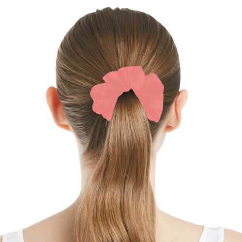 color light red All Over Print Hair Scrunchie