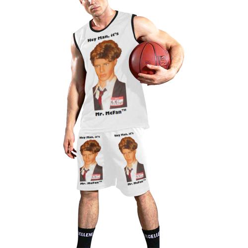 McFan - Mr. - Hey Man -Uniform I All Over Print Basketball Uniform