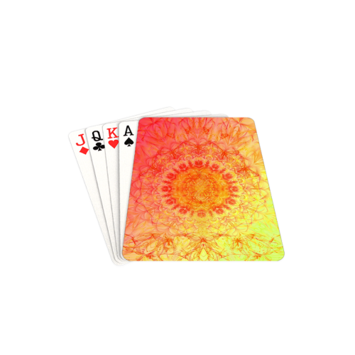 "petales 20 Playing Cards 2.5""x3.5"""