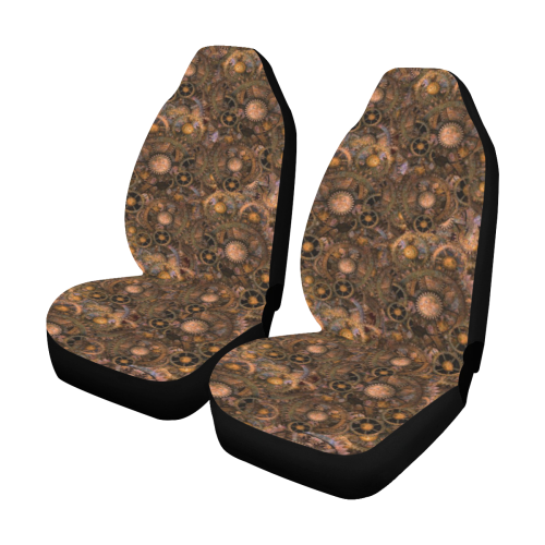 Steampunk Cogs Car Seat Covers (Set of 2)