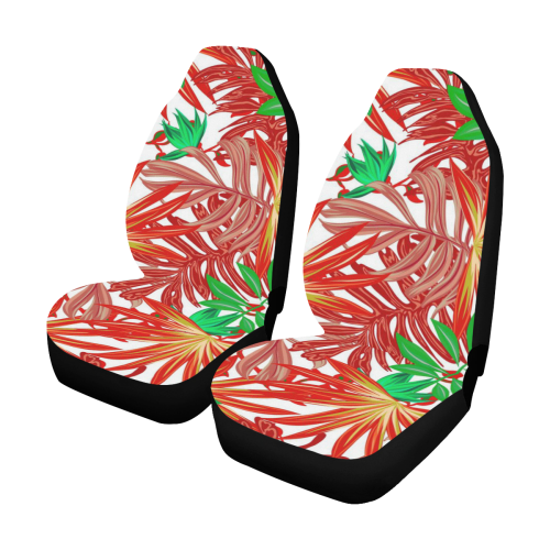 Pretty Leaves 4B by JamColors Car Seat Covers (Set of 2)