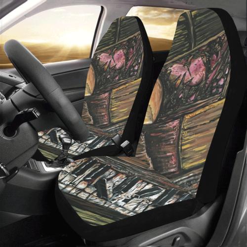 Broken Piano Car Seat Covers (Set of 2)
