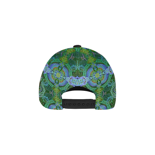 floralie 18 All Over Print Baseball Cap B