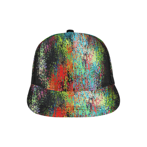 Colors of Dream by Nico Bielow All Over Print Snapback Hat D