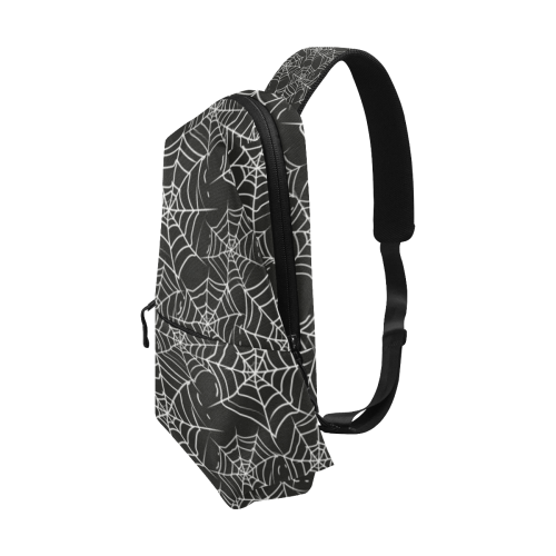 Spider Webs Chest Bag (Model 1678)