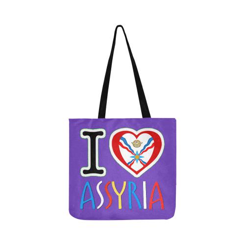 I Love Assyria Reusable Shopping Bag Model 1660 (Two sides)