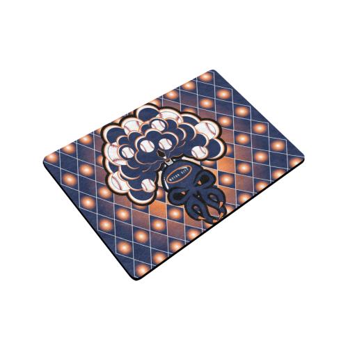 "SkullySpray Motor City Doormat Doormat 24""x16"" (Black Base)"