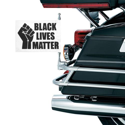 BLACK LIVES MATTER Motorcycle Flag (Twin Sides)