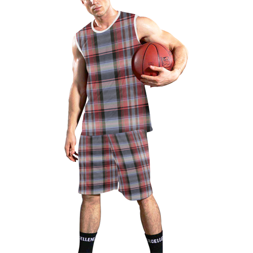 TARTAN-121 All Over Print Basketball Uniform