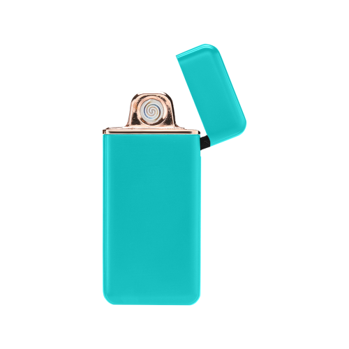 color dark turquoise USB Rechargeable Lighter