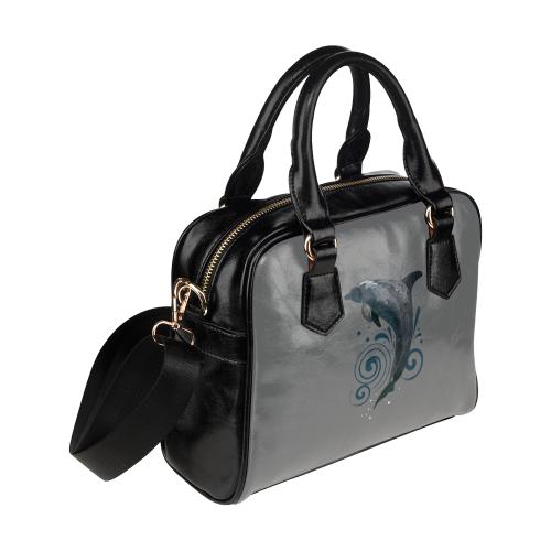Dolphin Day Shoulder Handbag (Model 1634)