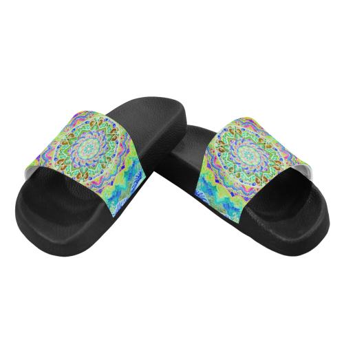 India 18 Women's Slide Sandals (Model 057)