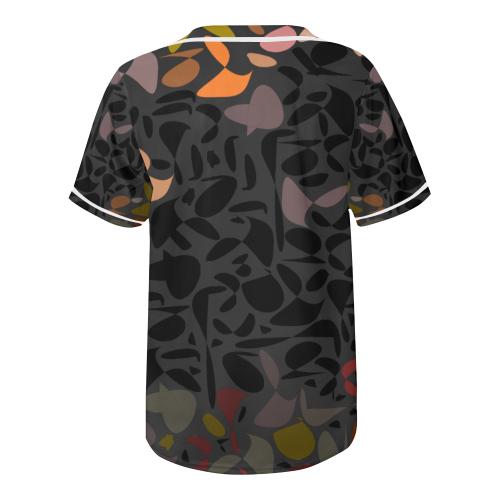 zappwaits k02 All Over Print Baseball Jersey for Men (Model T50)