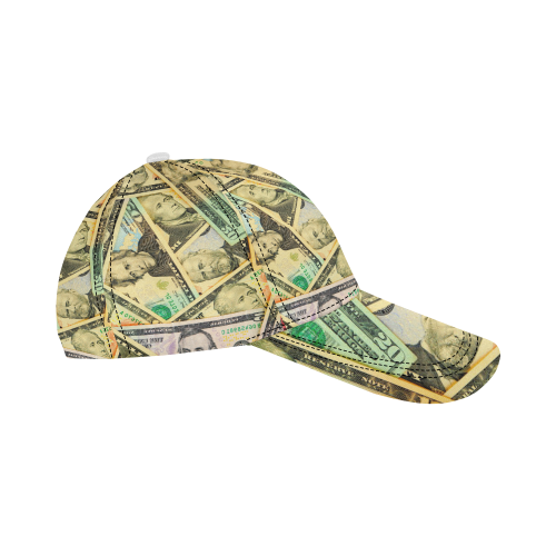 US DOLLARS All Over Print Dad Cap C (7-Pieces Customization)