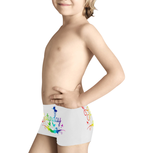 Butterfly Saturday Kids' All Over Print Boxer Briefs (Model L24)