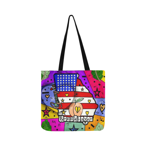 Brookhaven by Nico Bielow Reusable Shopping Bag Model 1660 (Two sides)