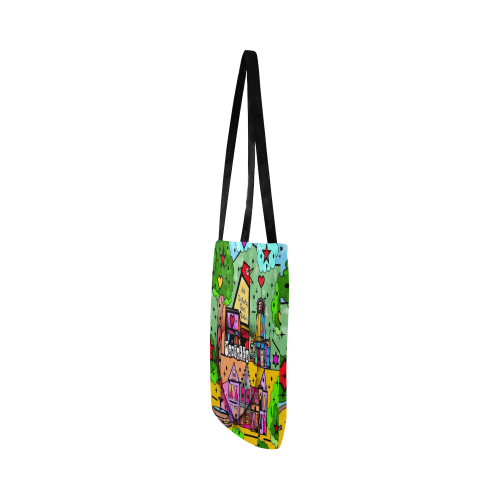 Marietta 2020 Pop Art by Nico Bielow Reusable Shopping Bag Model 1660 (Two sides)