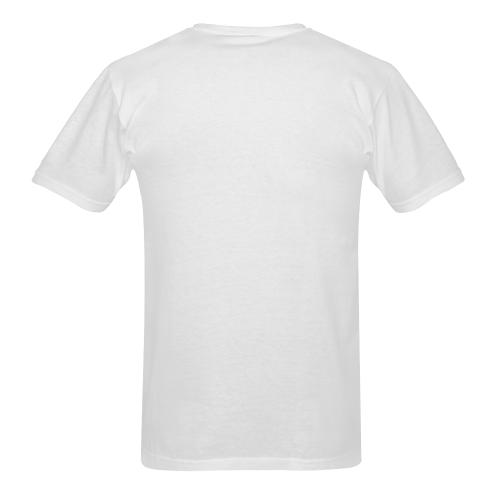 Nicoji Popart by Nico Bielow Men's T-shirt in USA Size (Two Sides Printing) (Model T02)