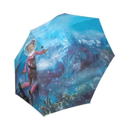 Atlantis Umbrella Foldable Umbrella (Model U01)