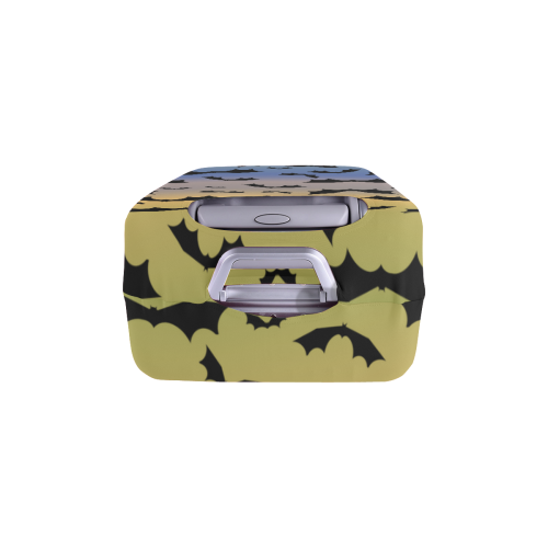 """bats in the sunset Luggage Cover/Large 26""""-28"""""""